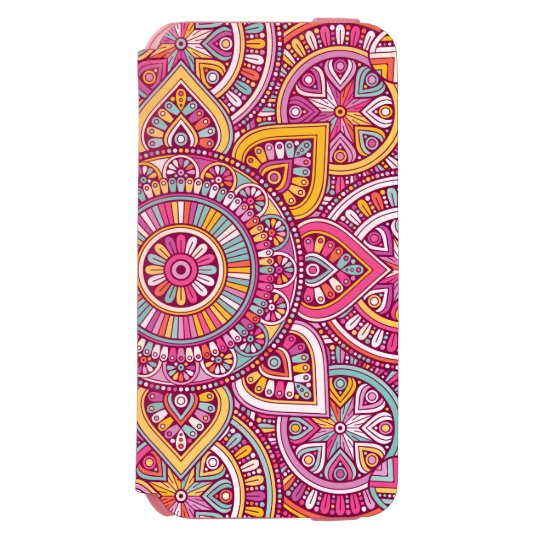 Colourful Mandala Incipio Watson™ iPhone 6 Wallet Case
