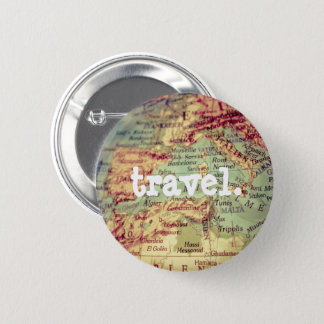 Colourful Map Travel Button