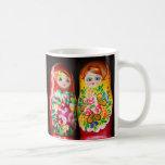Colourful Matryoshka Dolls Mugs