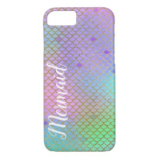 Colourful Mermaid Scales iPhone 7/8 Case