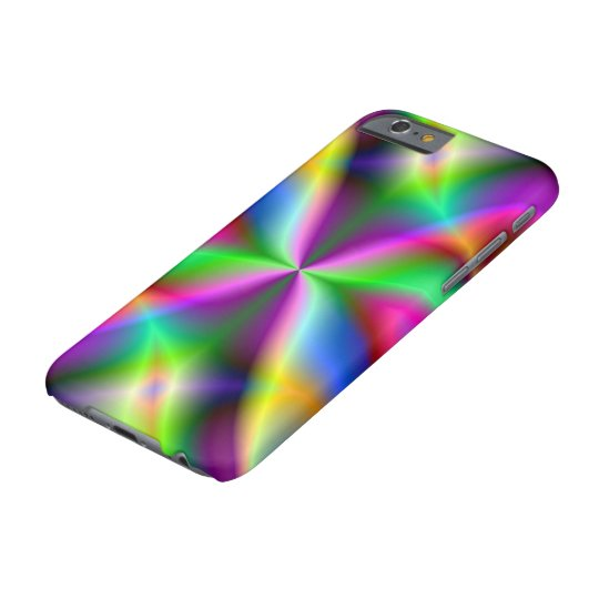 Colourful Metallic Fractal Lustre Barely There iPhone 6