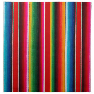 Colourful Mexican Style Napkin
