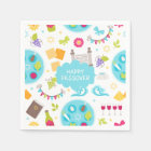 Colourful Modern Happy Passover Disposable Napkin