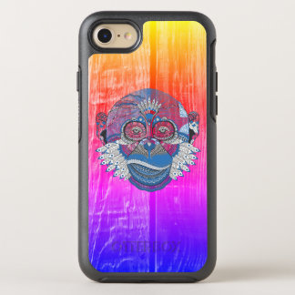 Colourful Monkey Business OtterBox Symmetry iPhone 8/7 Case