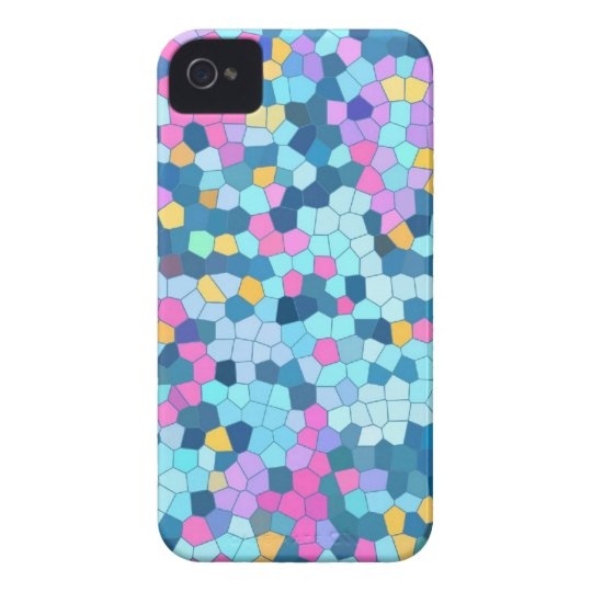 Colourful Mosaic iPhone 4/4S case