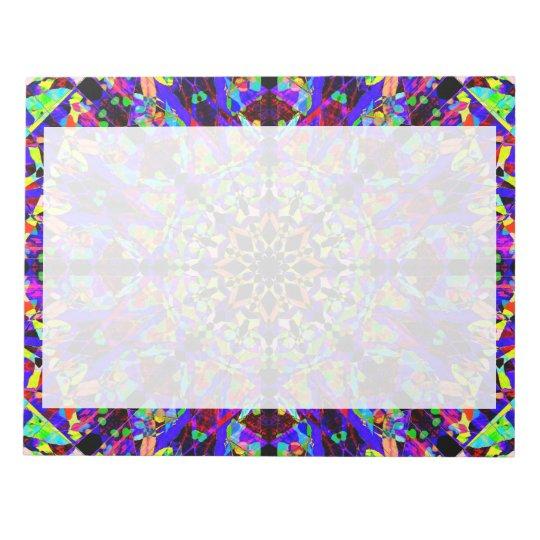 Colourful Mosaïc Mandala Notepad
