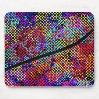 Colourful mousepad