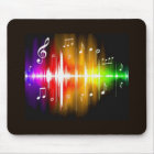 Colourful Music Notes Mouse Mat