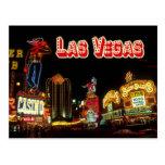Colourful Neon Signs, Las Vegas, Nevada Post Card