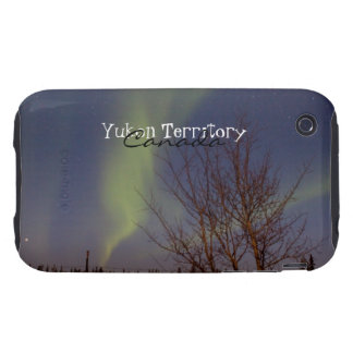 Colourful Northern Sky; Yukon Territory Souvenir iPhone 3 Tough Case