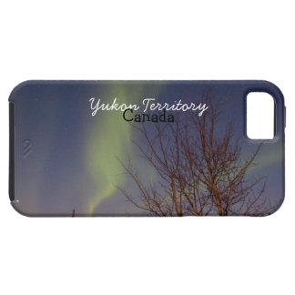Colourful Northern Sky; Yukon Territory Souvenir iPhone 5 Cover