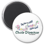 Colourful Notes 6 Cm Round Magnet