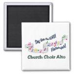 Colourful Notes Choir SATB Square Magnet