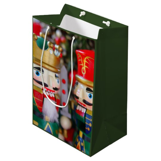 Colourful nutcrackers medium gift bag