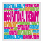 Colourful Occupational Therapy Posters
