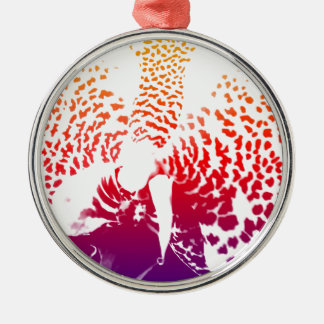 Colourful Orchid Christmas Ornament