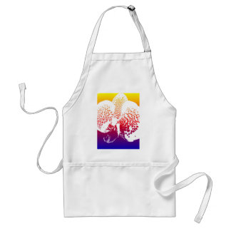 Colourful Orchid Standard Apron