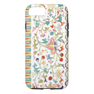 Colourful Oriental Design And Textures iPhone 7 Case