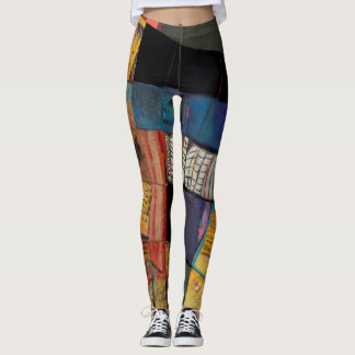 colourful, original art, unique, cool leggings