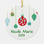 Colourful Ornaments Personalised