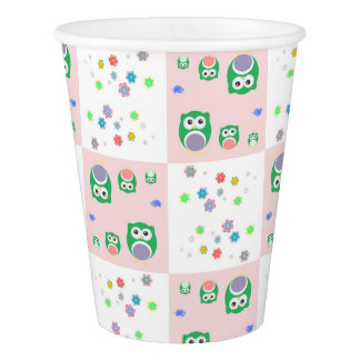 Colourful Owl Pattern For Kids