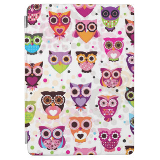 Colourful Owl Pattern For Kids 2 iPad Air Cover