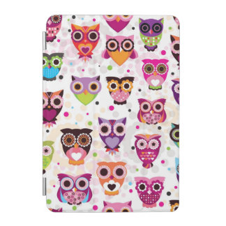 Colourful Owl Pattern For Kids 2 iPad Mini Cover