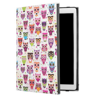 """Colourful Owl Pattern For Kids 2 iPad Pro 12.9"""" Case"""