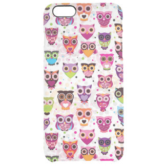 Colourful Owl Pattern For Kids 2 iPhone 6 Plus Case