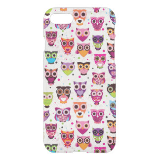 Colourful Owl Pattern For Kids 2 iPhone 8/7 Case