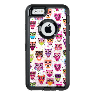 Colourful Owl Pattern For Kids 2 OtterBox iPhone 6/6s Case