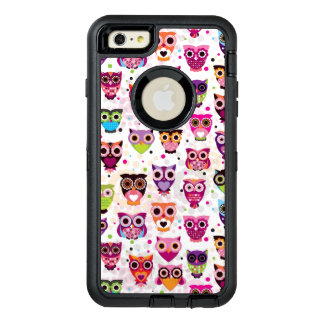 Colourful Owl Pattern For Kids 2 OtterBox iPhone 6/6s Plus Case
