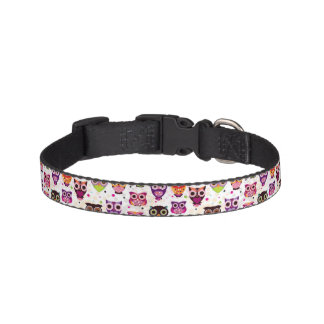 Colourful Owl Pattern For Kids 2 Pet Collar