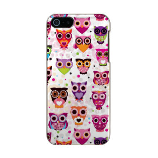 Colourful Owl Pattern For Kids 2 Incipio Feather® Shine iPhone 5 Case