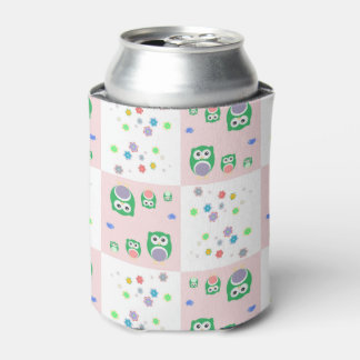 Colourful Owl Pattern For Kids Can Cooler