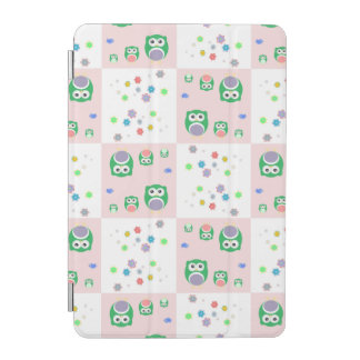 Colourful Owl Pattern For Kids iPad Mini Cover