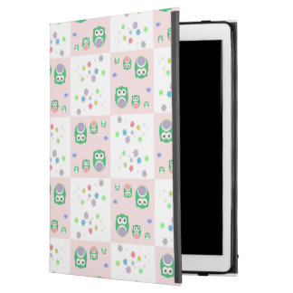 """Colourful Owl Pattern For Kids iPad Pro 12.9"""" Case"""