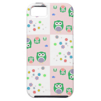 Colourful Owl Pattern For Kids iPhone 5 Cover