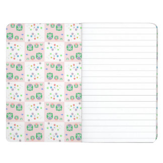 Colourful Owl Pattern For Kids Journal