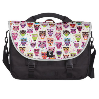 Colourful Owl Pattern For Kids Bags For Laptop