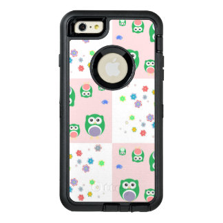Colourful Owl Pattern For Kids OtterBox iPhone 6/6s Plus Case