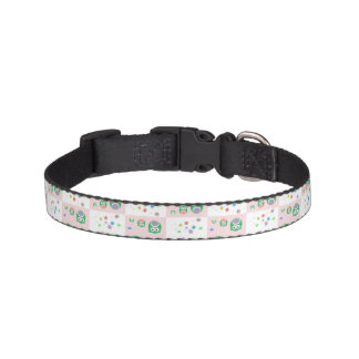 Colourful Owl Pattern For Kids Pet Collar