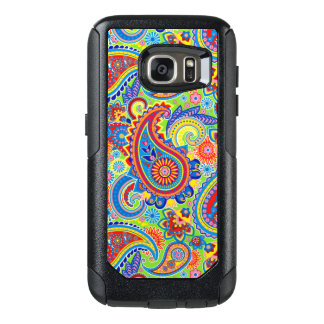 Colourful Paisley Seamless Pattern OtterBox Samsung Galaxy S7 Case