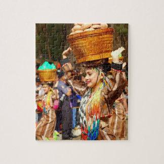 Colourful Panagbenga Festival Puzzle