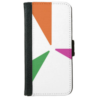 Colourful Pattern 3 Colours iPhone 6 Wallet Case