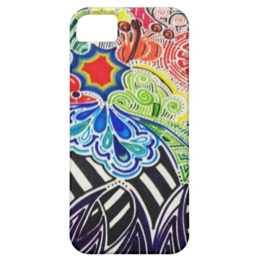 colourful pattern iphone 5 case