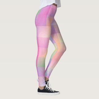 Colourful pattern leggings