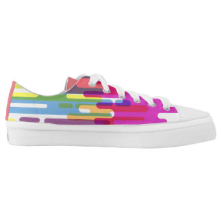 Colourful Pattern Low Top for everyday wear