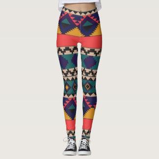 Colourful Pattern of Love Leggings