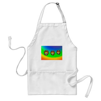 Colourful Pattern Products Adult Apron
